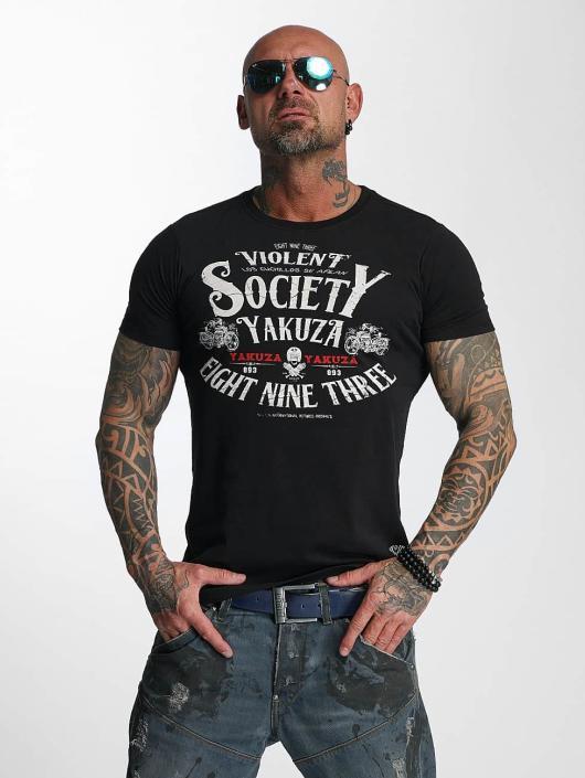 Yakuza T-Shirt Violent Society black