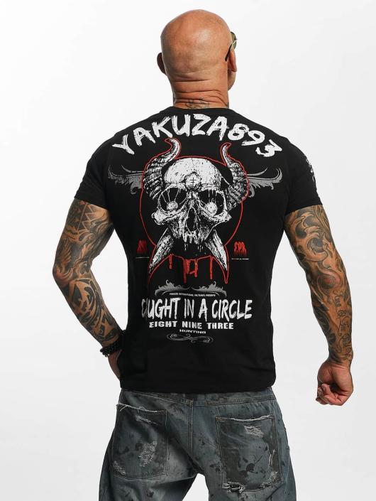 Yakuza T-Shirt Caught In A Circle black