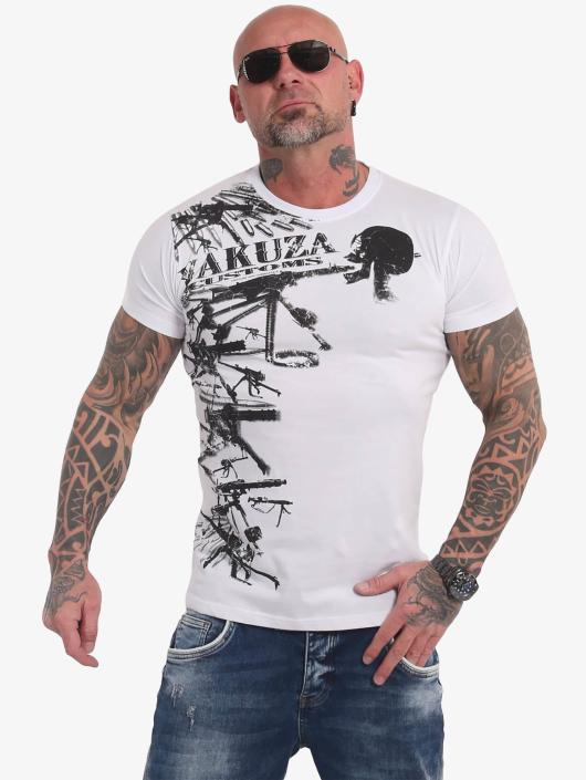 Yakuza T-Shirt Customs blanc