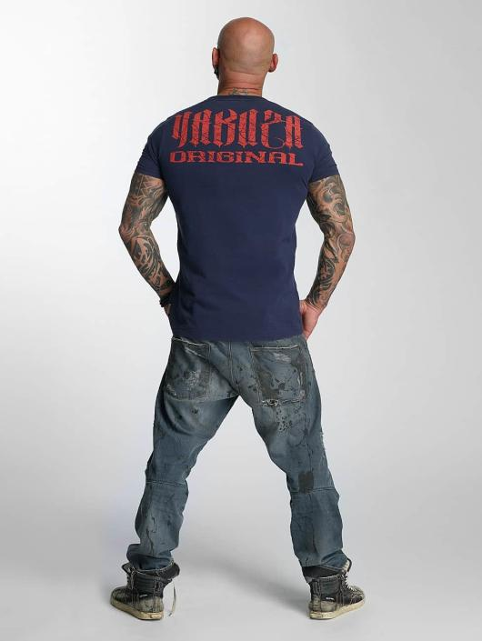 Yakuza T-Shirt Blow It Out blau