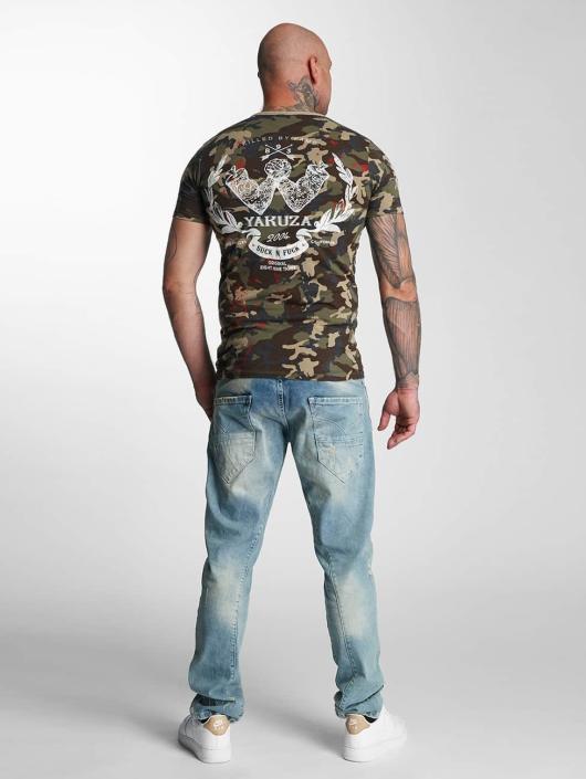 Yakuza T-Shirt Killed By Fame camouflage