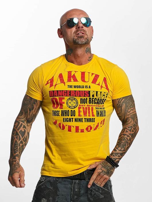 Yakuza T-Shirt Dangerous Place gelb