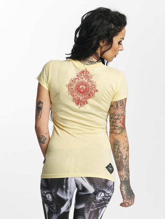 Yakuza T-shirt Don't Trust Me giallo