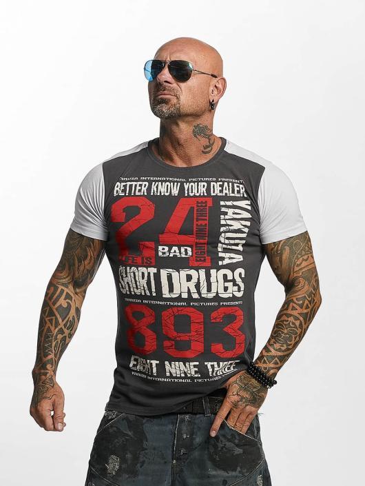 Yakuza T-Shirt Know Your Dealer II grau