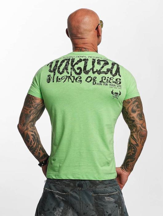 Yakuza T-Shirt King Of Lies green