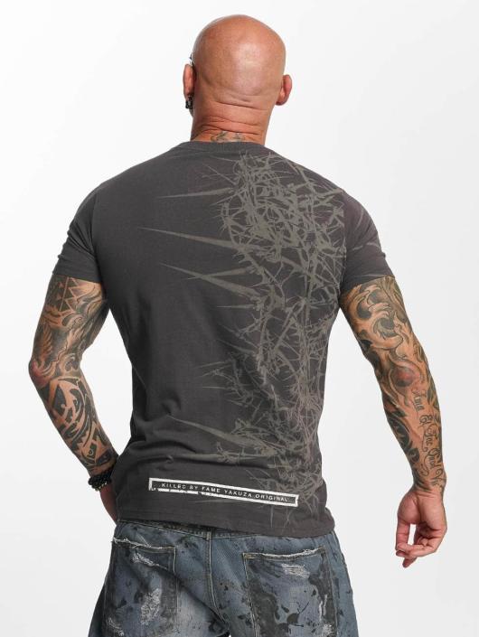 Yakuza T-shirt Face grigio