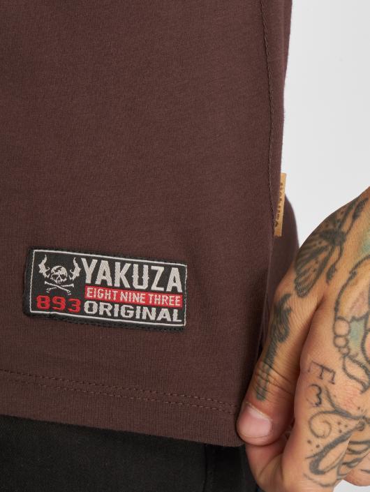 Yakuza T-shirt 893 Union marrone