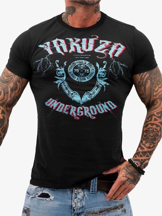 Yakuza T-Shirt Underground noir