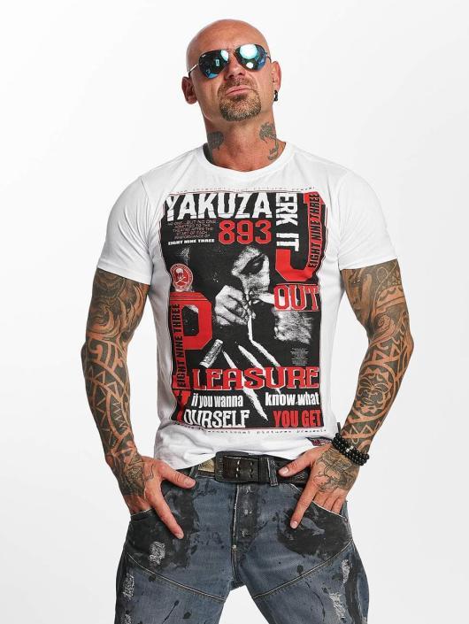 Yakuza T-Shirt Jerk it out weiß