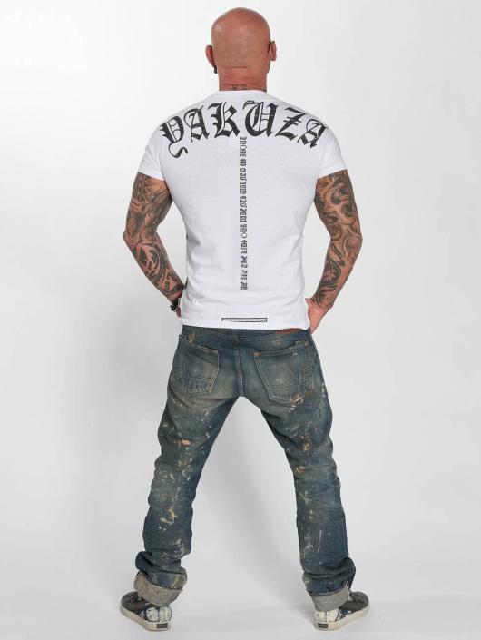 Yakuza T-Shirt Skull weiß