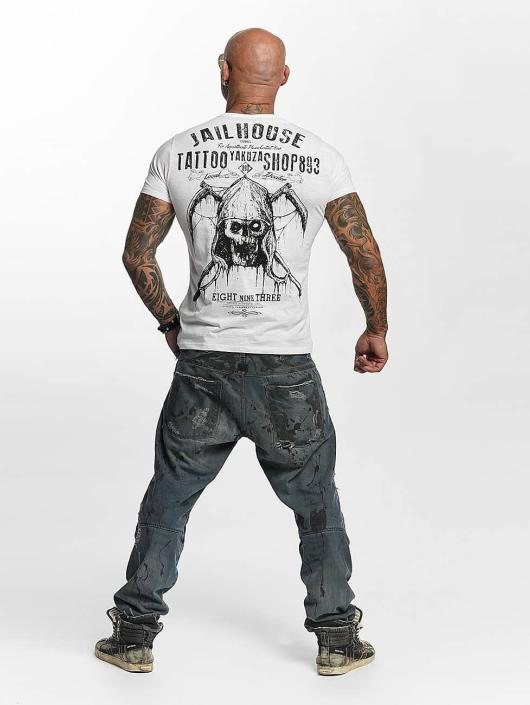 Yakuza T-Shirt Tattoo Shop white