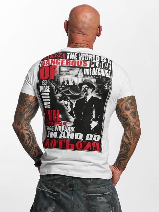 Yakuza T-Shirt Dangerous Place white