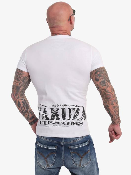 Yakuza T-Shirty Customs bialy