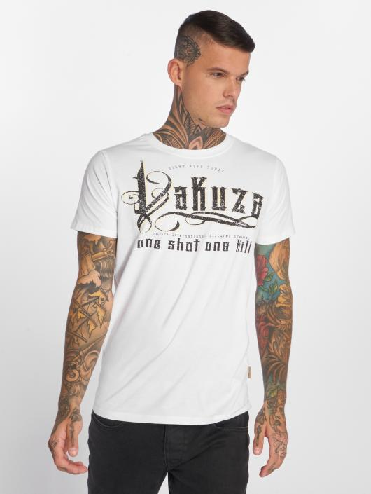 Yakuza T-Shirty One Shot bialy