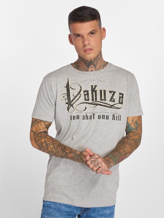 Yakuza T-Shirty One Shot szary
