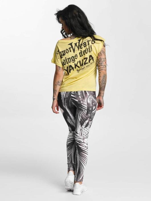 Yakuza T-skjorter Amor Wears Knot beige