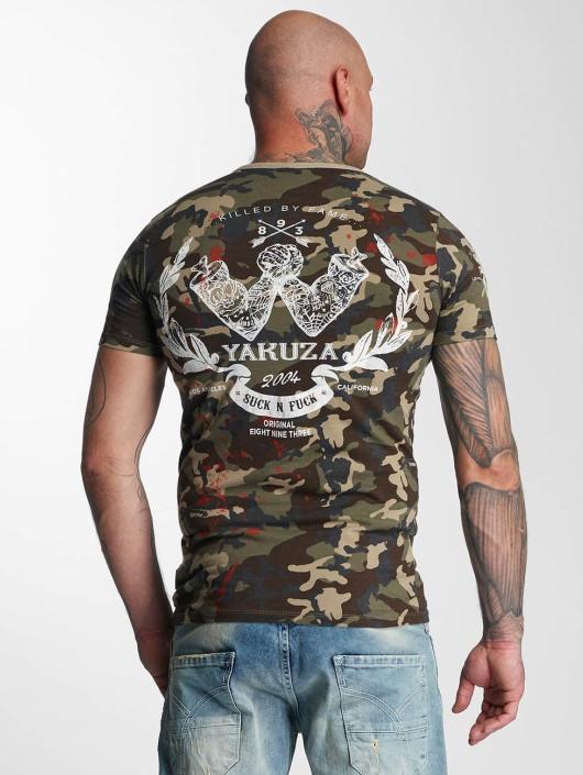 Yakuza T-skjorter Killed By Fame kamuflasje