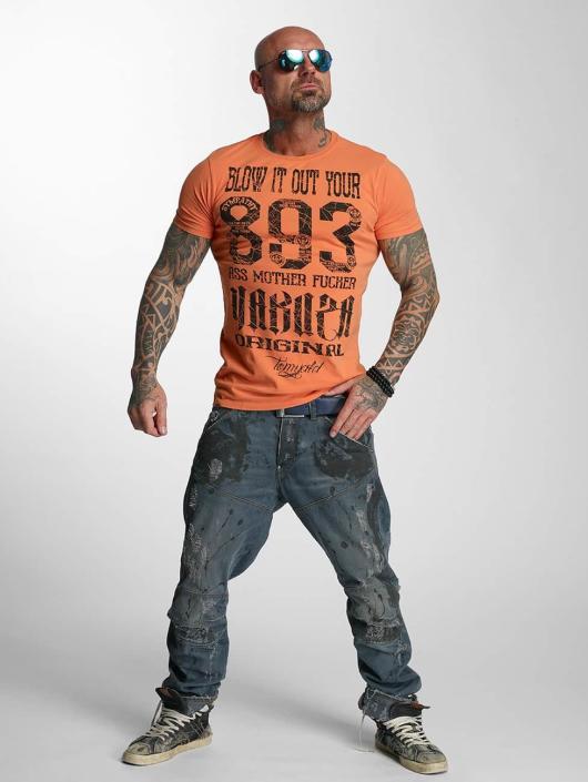Yakuza T-skjorter Blow It Out oransje