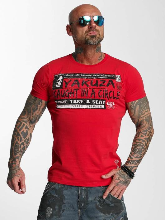Yakuza T-skjorter Take A Seat red