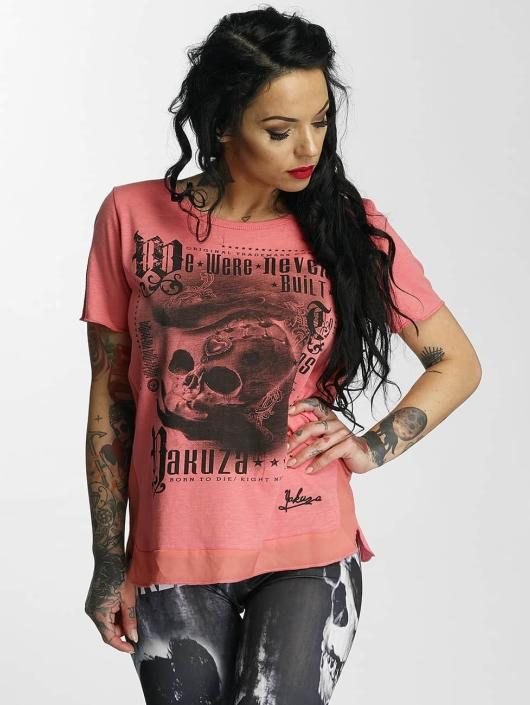 Yakuza T-skjorter Built rosa