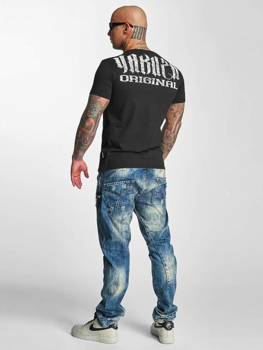 Yakuza T-skjorter Blow It Out svart