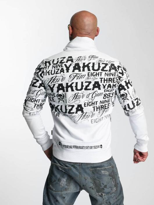 Yakuza Transitional Jackets Allover Label hvit