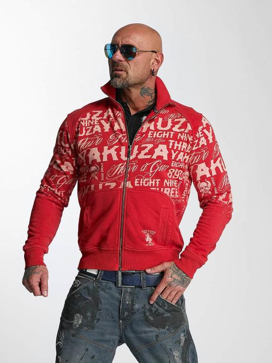 Yakuza Transitional Jackets Allover Label red