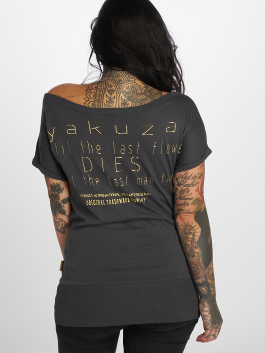 Yakuza Tričká Respirator šedá
