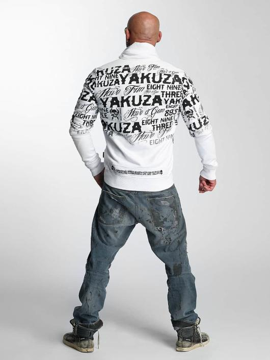 Yakuza Übergangsjacke Allover Label weiß