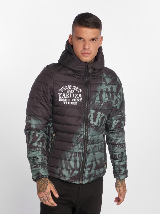 Yakuza Zimné bundy Allover Label Quilted èierna