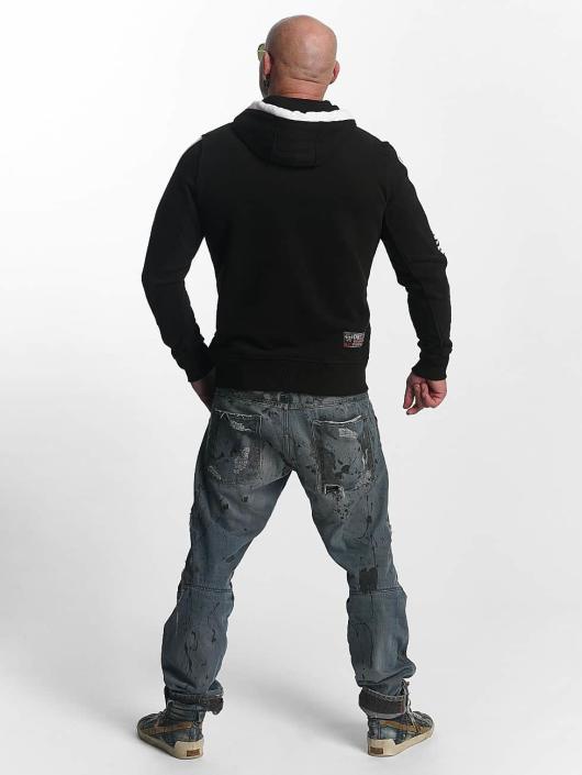 Yakuza Zip Hoodie Thunder black