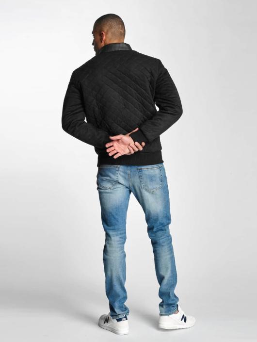 Yezz Lightweight Jacket Velour Step black