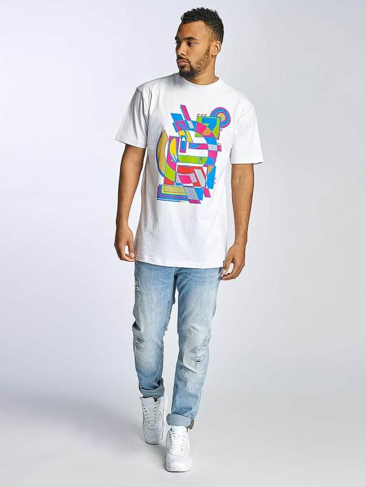 Yums T-skjorter Abstract II hvit