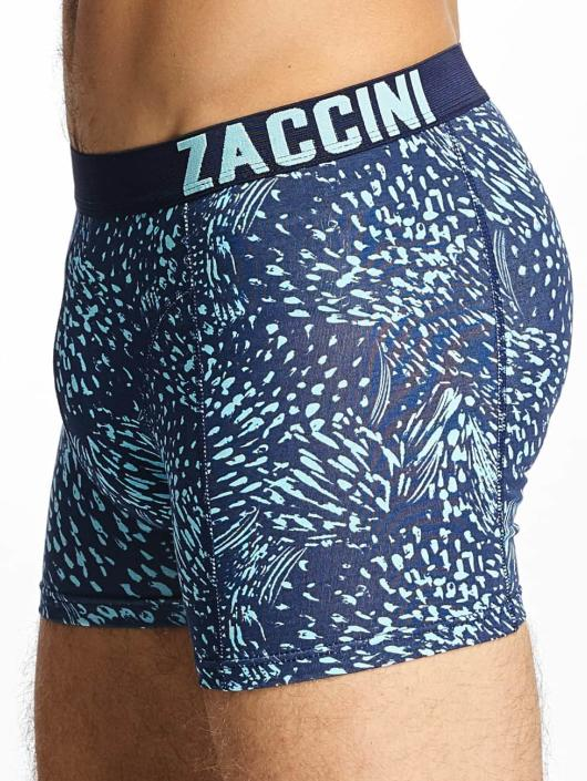 Zaccini Boksershorts Summer Spray 2-Pack blå
