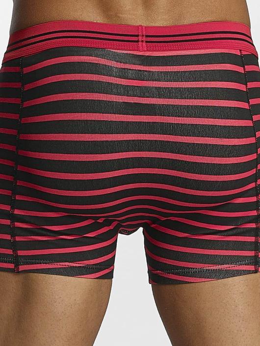 Zaccini Boksershorts Stripe 2-Pack red