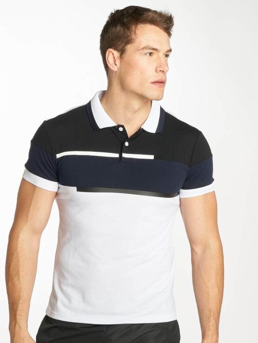 Zayne Paris Camiseta polo Stripe blanco