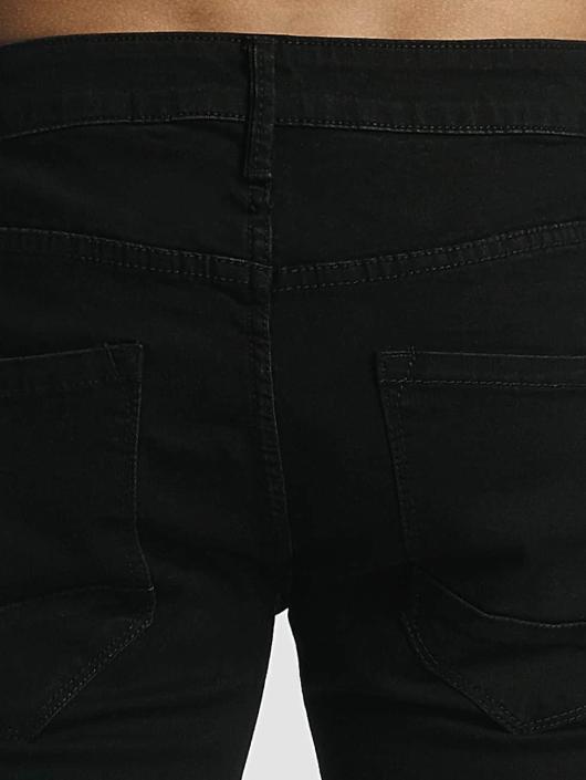 Zayne Paris dżinsy przylegające Classic czarny