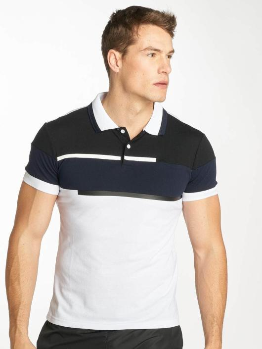 Zayne Paris Poloshirt Stripe weiß