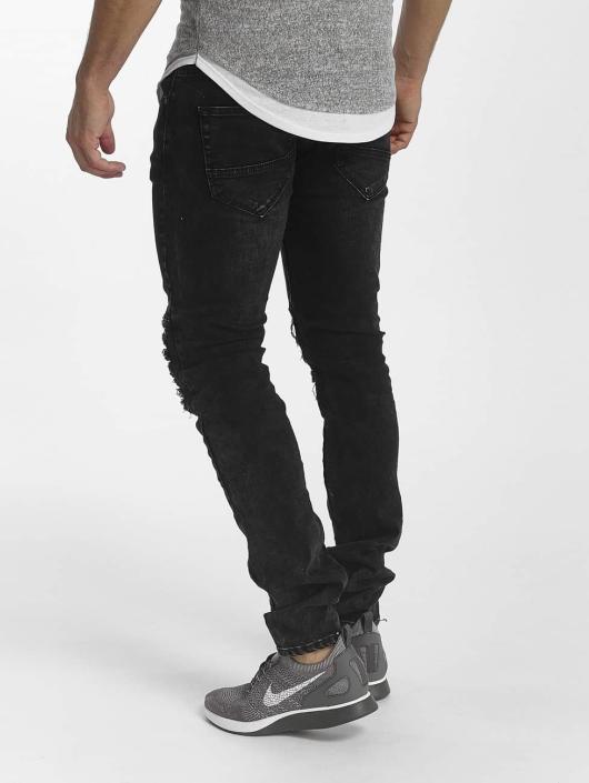 Zayne Paris Straight fit jeans Nizza zwart