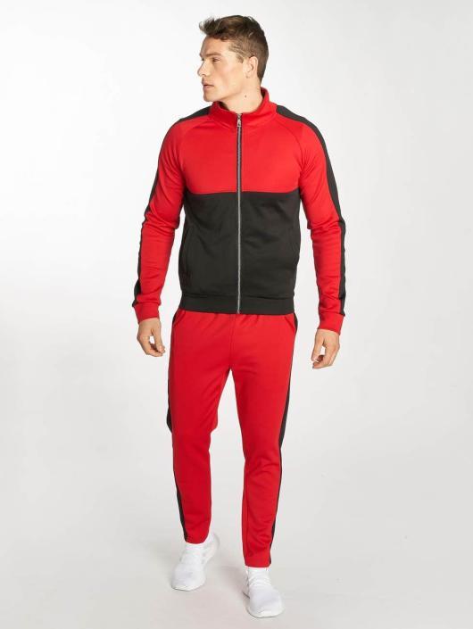 Zayne Paris Suits Two-Tone red