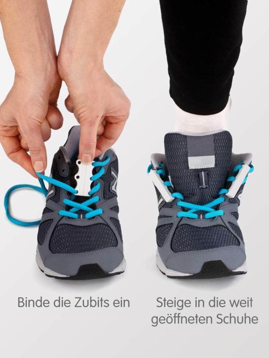 Zubits Schnürsenkel Magnetic blau