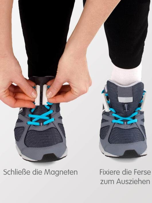 Zubits Schnürsenkel Magnetic schwarz