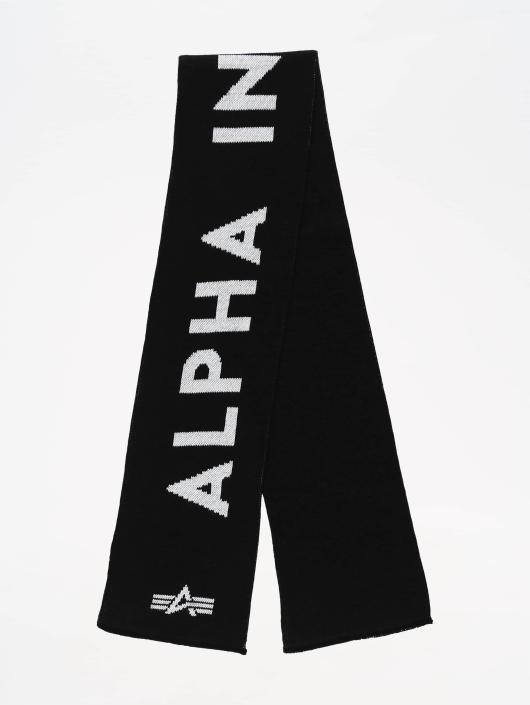 Alpha Industries Echarpe Logo noir