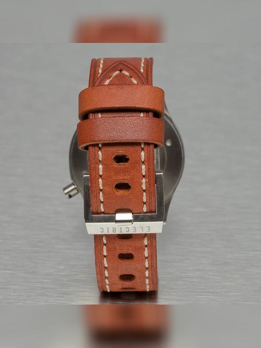 Electric Klocka FW03 Leather brun