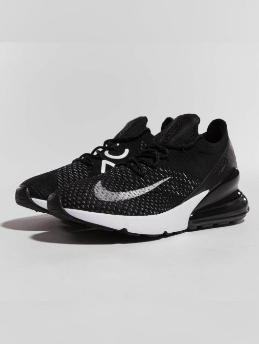 ... Nike Baskets Air Max 270 Flyknit noir ...