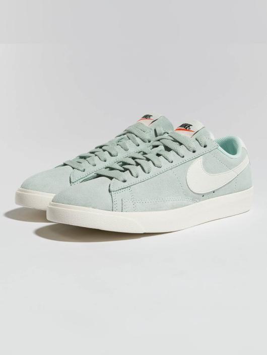 Femme Baskets 443474 Turquoise Nike Blazer qfnUxTE