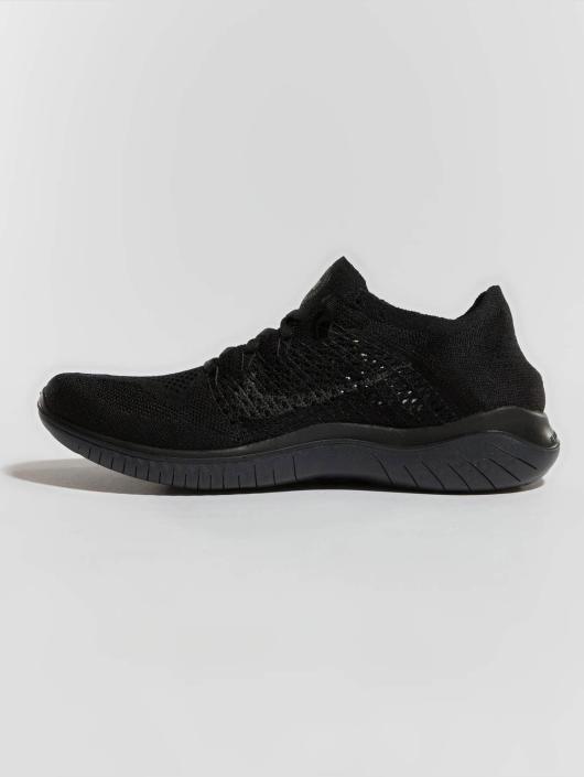 Nike Performance Sneaker RN Flyknit 2018 schwarz