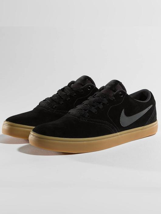 Nike SB Baskets Check Solarsoft Skateboarding noir