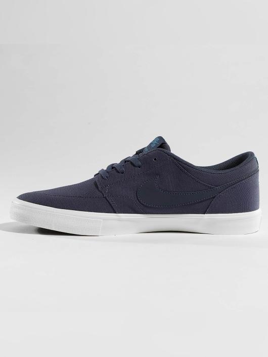 Nike SB Sneaker SB  Solarsoft Portmore II Canvas Skateboarding blau