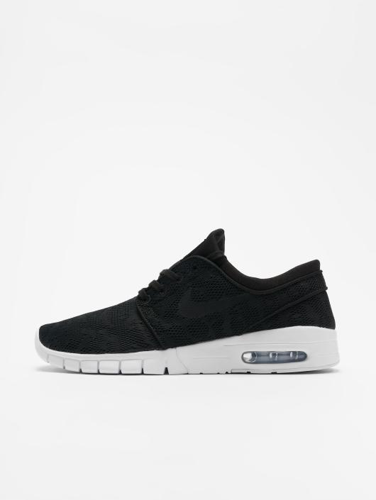 Nike SB Stefan Janoski Max Leather (zwart anthracite)